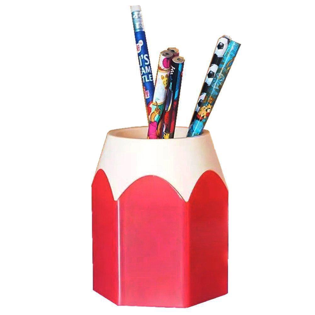 Laat Portalápices con forma de lápiz–Organizador para la oficina y el hogar 10,5 x 7,5cm azul