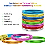 Tecboss 3D Pen/3D Printer Filament (10 Color
