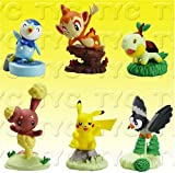 : Pokemon Diamond & Pearl Buildable Figure Series 3 - Capsule TOYS Set of (6)