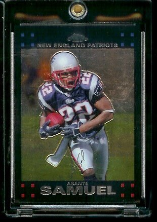 2007 Topps Chrome # TC146 Asante Samuel - NFL Football Cards