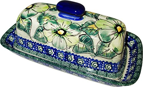 Polish Pottery Stick Butter Dish - Eva's Collection
