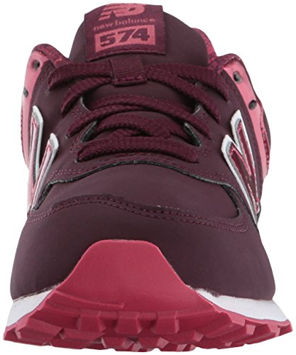 Rouge New Balance Burgundy Baskets Mixte bébé 574 pn66TPqwvR
