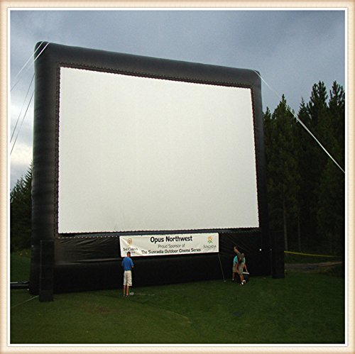 Boshi Electronic Instrument 7×6m Portable Inflatable Movie Screen Advertisement Screen Outdoor Cinema