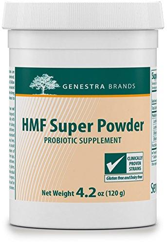 Genestra Brands - HMF Super Powder - Probiotic Formula to Support Healthy Gut Flora* - 4.2 oz (120 g) by Genestra Brands