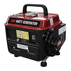 Goplus 1200 Watt Gasoline Portable Generator Gas Powered 2 Stroke 63cc Single Cylinder W/ Air Cooling System EPA Approved