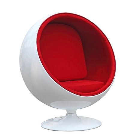 Eero Aarnio Ball Chair (Red)