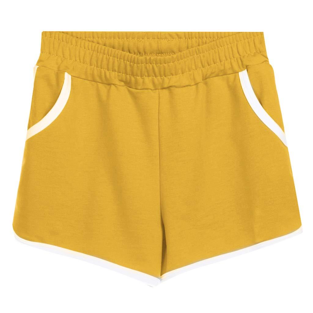 Women Sports Cotton Plus Size Shorts Casual Home Hot Pants