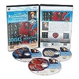 Weber Joan Dahl DVD Collection-Rosemaling in Oil, Beginner, Intermediate and Advanced Instruction