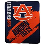 NCAA Collegiate School Logo Fleece Blanket (Auburn Tigers)