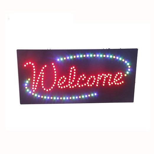 WETRR Los letreros de neón LED 30x60 cm luz Vertical hasta ...