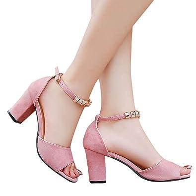 e81647ee35530 Amazon.com | Todaies Buckle Strap Sandals, Fashion Women Ladies ...