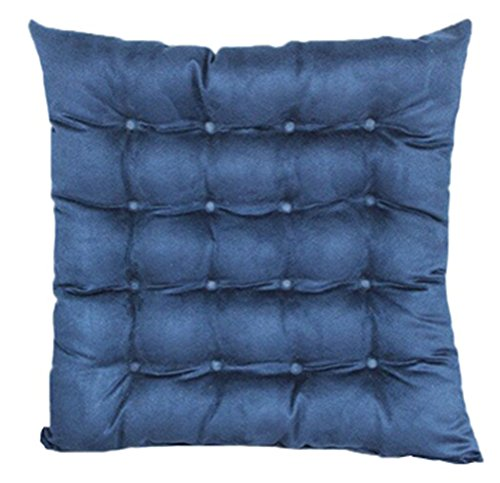 Candy Color Multi-Size Stuffed Chair Cushion LivebyCare Filled Seat Back Cushions Square PP Cotton Insert Filling Pad for Club Pub Coffee House Bar Sofa Couch by LivebyCare