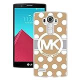 Genuine MK LG G4 Case,Michael Kors 63 White LG G4 Screen Phone Case Unique and Luxury Design