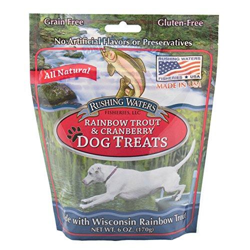 Sam's Yams Rainbow Trout Dog Treats - Cranberry
