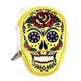 Yellow Sugar Skull Manicure Set - Day of the Dead Mexicana by Puckator