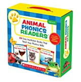 Animal Phonics Readers: 24 Easy Nonfiction Books That Teach Key Phonics Skills [With Sticker(s) and Activity Book]