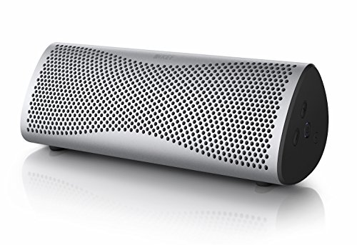 KEF MUO Wireless Bluetooth Speaker - Silver by KEF