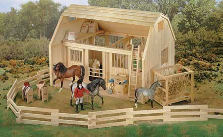 Traditional Wood Corral, Imaginative Toys, 2017 Christmas for sale  Delivered anywhere in USA