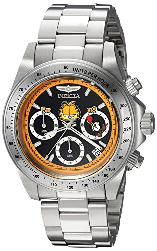 Men's 'Character Collection' Quartz Stainless Steel Casual Watch, Color:Silver-Toned (Model: ) - Invicta 24889