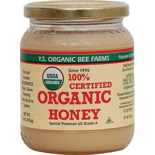 YS Royal Jelly/Honey Bee - Organic Honey 16 oz gel New