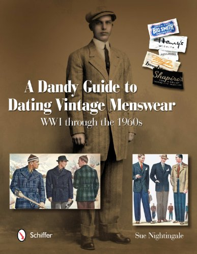 Dandy Costumes (A Dandy Guide to Dating Vintage Menswear: WW1 Through the 1960s)
