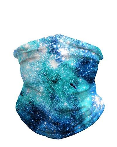 INTO THE AM Nebula Skies Seamless Mask Bandana