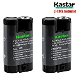 Kastar KAA2HR Battery (2-Pack) for Kodak KAA2HR KAARDC K3ARDC and Kodak EasyShare, Kodak C315 CD33 CW330 CX7430 DX3900 Z650 Digital Camera