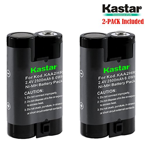 Cx6200 Memory - Kastar KAA2HR Battery (2-Pack) for Kodak KAA2HR KAARDC K3ARDC and Kodak EasyShare, Kodak C315 CD33 CW330 CX7430 DX3900 Z650 Digital Camera