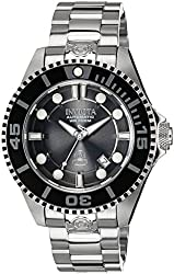 Invicta Pro Diver Automatic Charcoal Dial Stainless Steel Mens Watch 19800