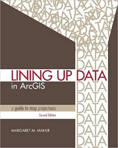 Amazon remote sensing gis books lining up data in arcgis a guide to map projections fandeluxe Images