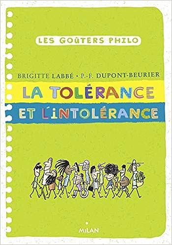 tolérance l'intolérance