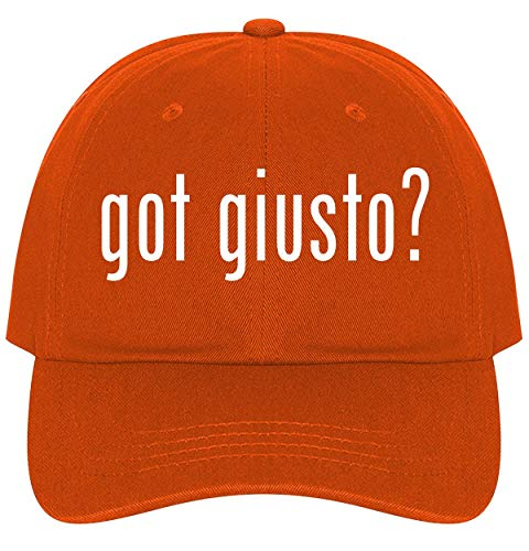 (The Town Butler got Giusto? - A Nice Comfortable Adjustable Dad Hat Cap, Orange)