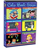 Child Basic Steps  - Basic Intelligence - Vol. 1 & 2/English Speaking - Vol. 1 & 2/Make Your Child Intelligent/Interactive English for Kids (Set of 6 Vcds)