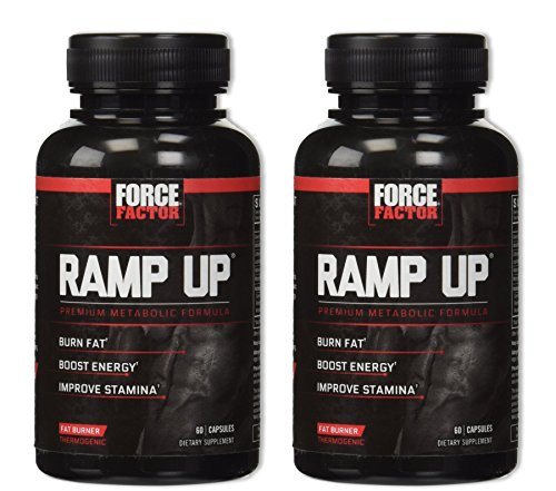 Force Factor Ramp Up Thermogenic Energy Maximizer 60 Capsules [2 Pack]