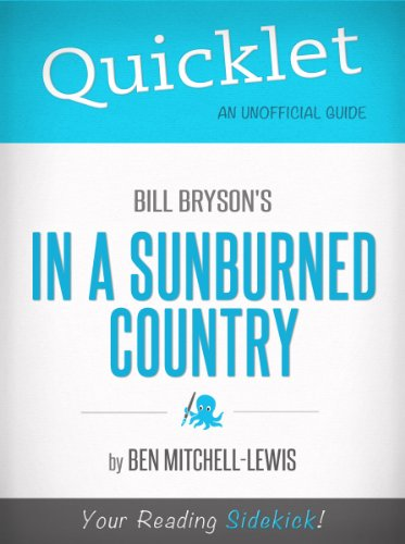 Amazon quicklet on bill brysons in a sunburned country quicklet on bill brysons in a sunburned country cliffnotes like summary by fandeluxe Images