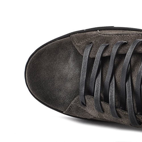CRIME London Herren Undercover Sneaker Grau 44 Grau