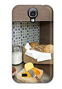 New LillianHubbar Super Strong Contemporary Retro Kitchen Cabinetry Tpu Case Cover For Galaxy S4