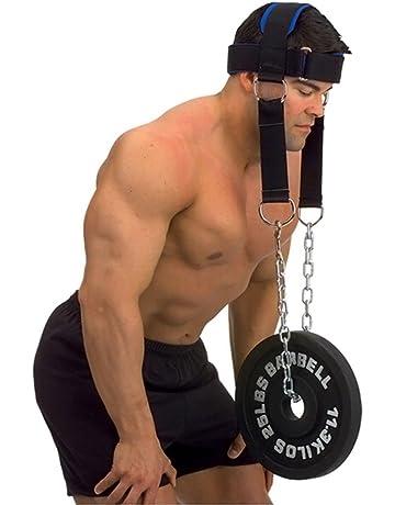 Haltérophilie Tête Harnais trempage pour cou entraînement muscles Exercice Formation