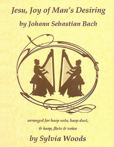 Jesu, Joy Of Man's Desiring Arranged for Harp