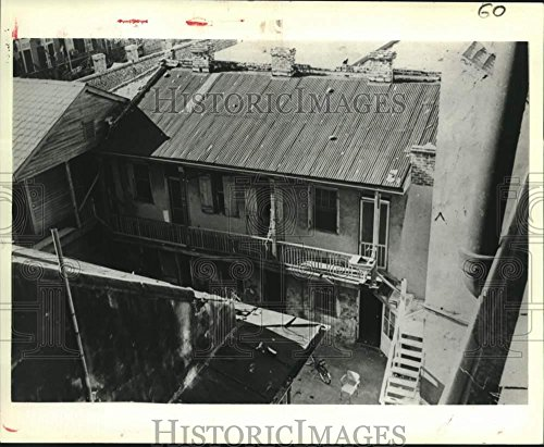 For sale 1981 Press Photo Real estate photo 524 . Philip the French Quarter.