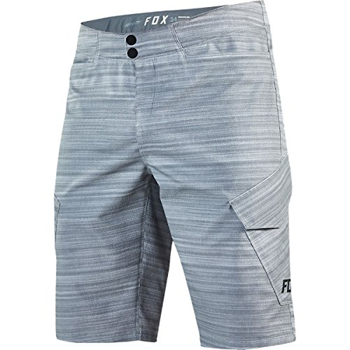 Fox Racing Ranger Cargo Print Short - Men's Heather Grey, - Racing Mens Shorts