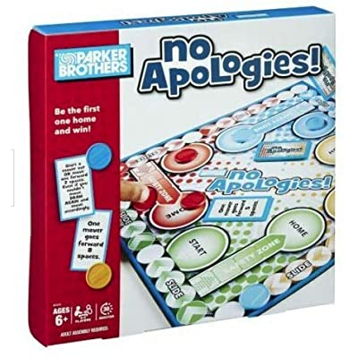 No Apologies! by Parker Brothers: Toys & Games