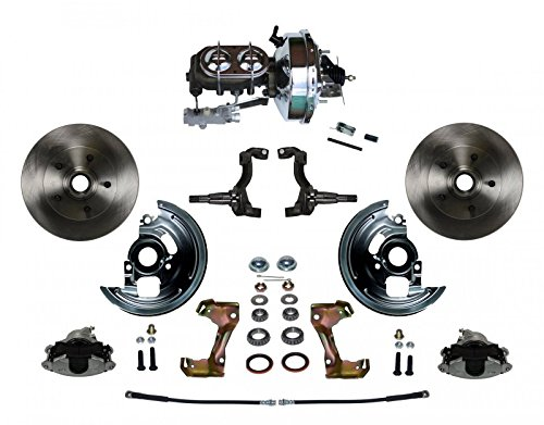 Chevy Chevelle Disc Brake - GPS Automotive FC1002-FBB2 - Power Conversion Kit with 9