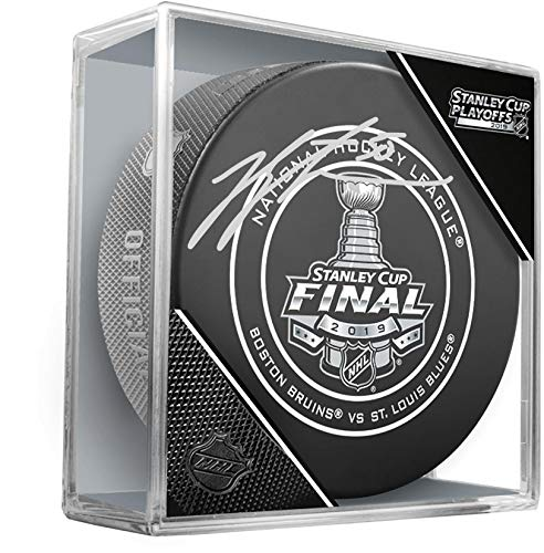 - Jordan Binnington St. Louis Blues 2019 Stanley Cup Champions Autographed Series-Clinching Official Game Puck - Fanatics Authentic Certified