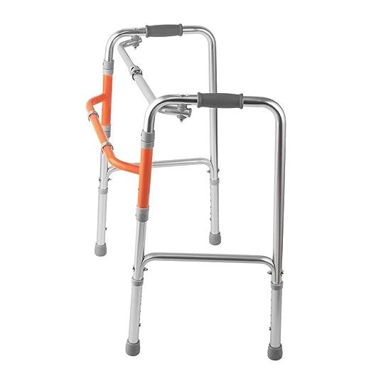 Wyyggnb Marco Zimmer, Andador Plegable de Aluminio liviano for ...