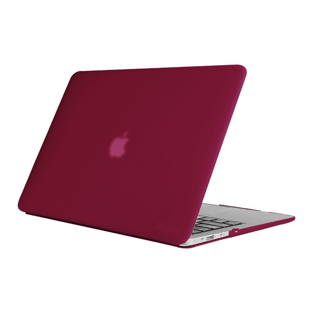 online store 17881 e6f3e Fintie Hard Case for MacBook Air 13, Super Thin Rubberized Coated Soft  Touch Laptop Cover Shell Protective for Apple 13-inch MacBook Air 13.3