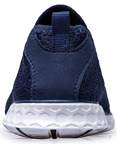 On Water 5US Gray TIANYUQI Mesh Shoes Slip Women 's 8 2 azul 39EU 1XqXBIgCn