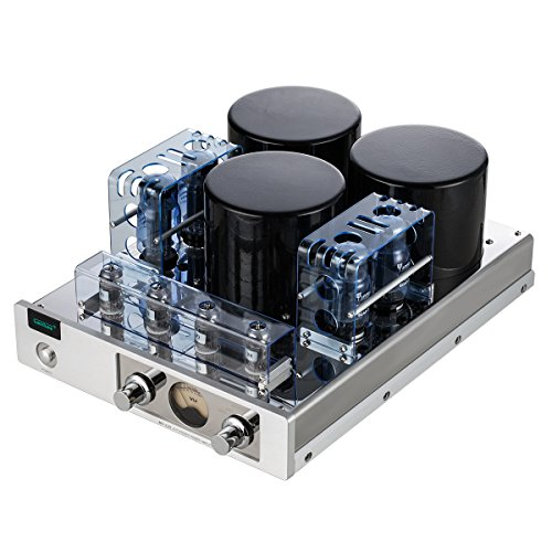 Gemtune MC-13S EL34 (6CA7) 4 Vacuum Tube Integrated Push-Pull Amplifier (With Protect Cover) Gemtune