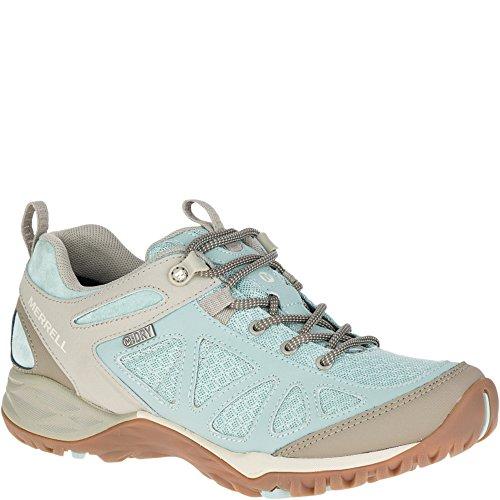 Merrell Women's Siren Sport Q2 Waterproof Hiking Shoe, Blue Surf, 5 M US by Merrell