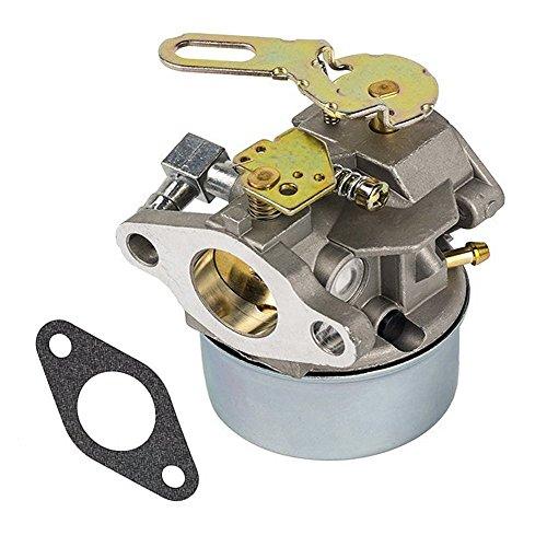Parts Club Carburetor Replace Tecumseh 632107A 632107 640084A 640084B 640084 Snow Blower HSSK40 HSSK50 HS50 LH195SA Carb